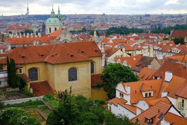 Looking at Mala Strana, Prague, MJJ