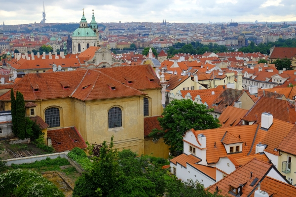 Looking at Mala Strana, Prague, MJJ
